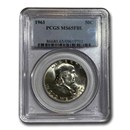1961 Franklin Half Dollar MS-65 PCGS (FBL)