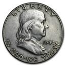 1962-D Franklin Half Dollar Fine/AU