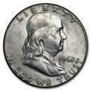 1962 Franklin Half Dollar Fine/AU