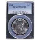 1962 Franklin Half Dollar MS-64 PCGS (FBL)