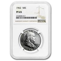 1962 Franklin Half Dollar PF-65 NGC
