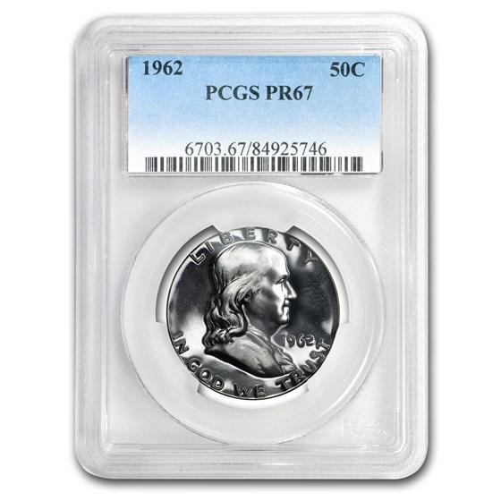 1962 Franklin Half Dollar PR-67 PCGS