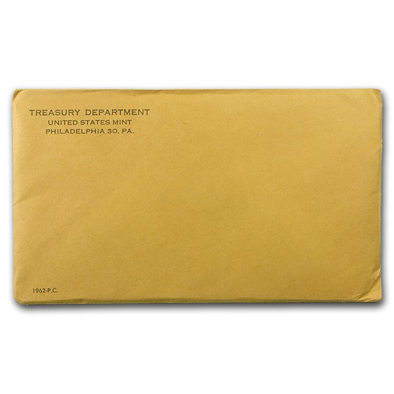 1962 U.S. Proof Set (Sealed Mint Envelope)