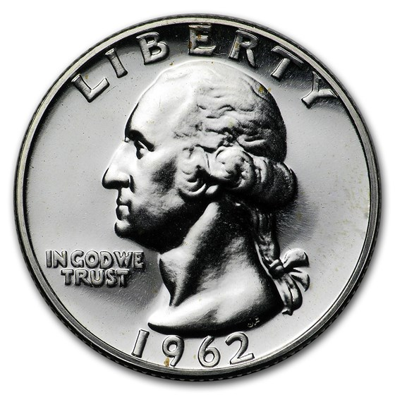 1962 Washington Quarter Gem Proof