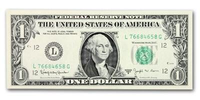 1963-B (L-San Francisco) $1.00 FRN CU (Fr#1902-L)