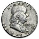1963 Franklin Half Dollar Fine/AU