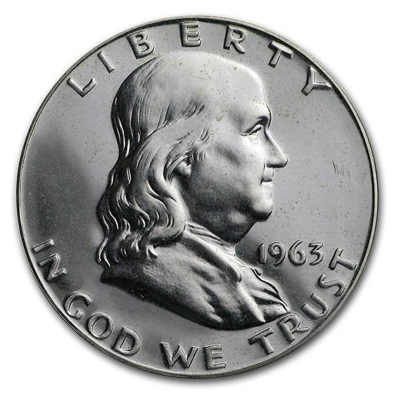 1963 Franklin Half Dollar Gem Proof