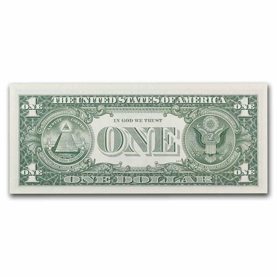 1963 (J-Kansas City) $1.00 FRN CU (Fr#1900-J)