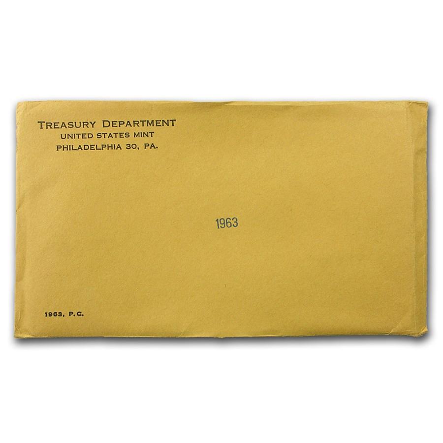 1963 U.S. Proof Set (Sealed Mint Envelope)
