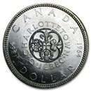 1964 Canada Silver Dollar BU
