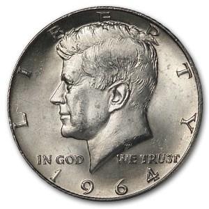 1964-D Kennedy Half Dollar BU