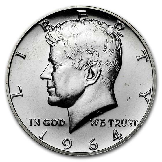 1964 Kennedy Half Dollar Gem Proof