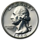 1964 Washington Quarter Gem Proof