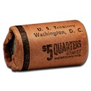 1964 Washington Quarters 20-Coin Roll BU (U.S. Treasury Wrapped)