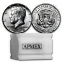 1965-1970 40% Silver Kennedy Half Dollar 20-Coin Roll BU/Proof