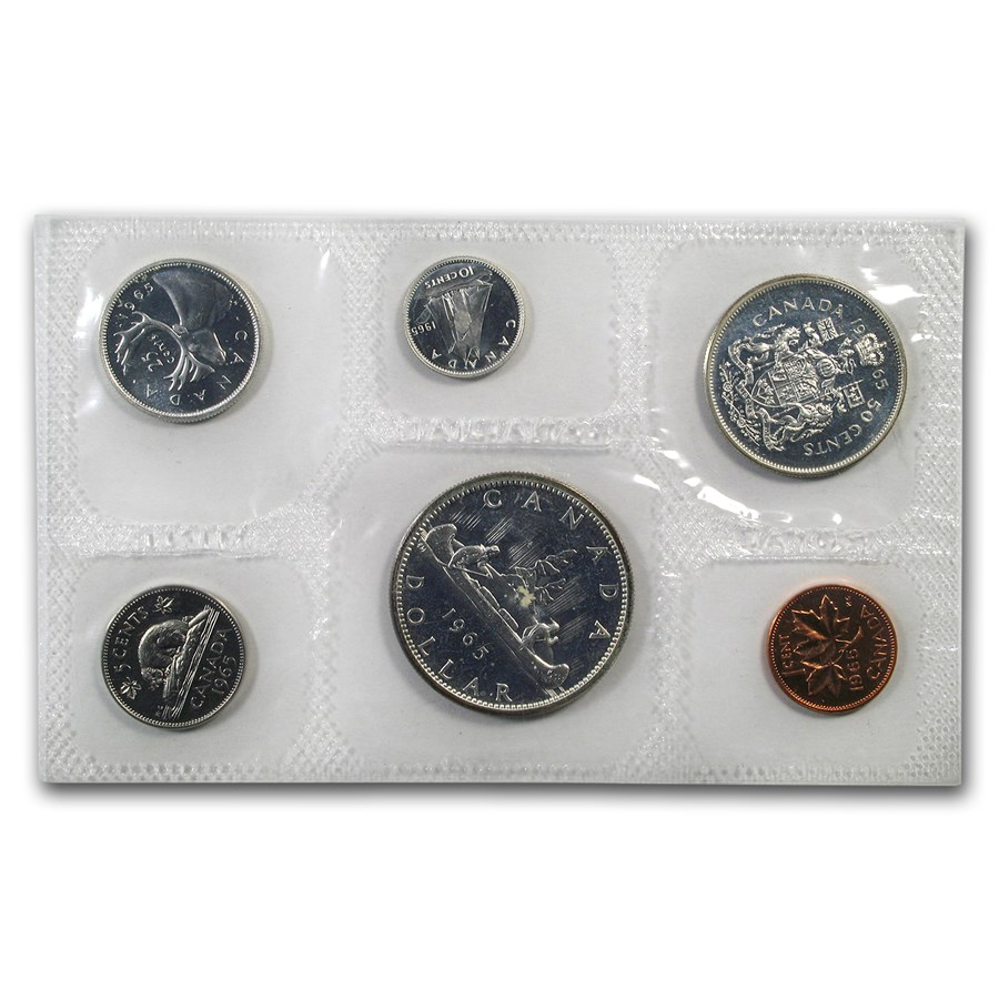 1965 Canada 6-Coin Proof Like Set