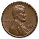 1965 Lincoln Cent Fine+