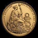1965 Peru Gold 50 Soles BU