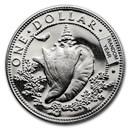 1966-1973 Bahamas Silver Dollar BU/Proof