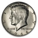 1966 Kennedy Half Dollar BU