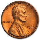 1966 Lincoln Cent BU (Red)