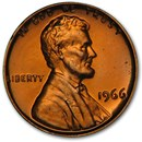 1966 Lincoln Cent (SMS)
