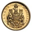1967 Canada Gold $20 Confederation BU/Proof (AGW .5288)