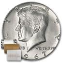 1967 Kennedy Half Dollar 20-Coin Roll BU