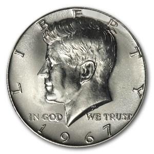 1967 Kennedy Half Dollar SMS BU