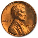 1967 Lincoln Cent BU (Red)