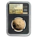 1967 S. Africa 1 oz Gold 50th Anniv Vintage Krugerrand MS-70 NGC