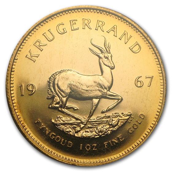 1967 South Africa 1 oz Proof Gold Krugerrand