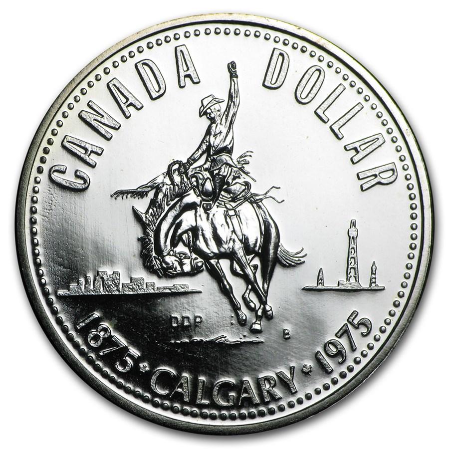 1968-1991 Canada 50% Silver Dollar BU/Proof (ASW .3750)