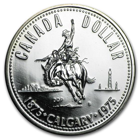 1968-1991 Canadian Silver Dollar BU/Proof (ASW .3750)