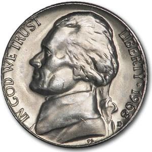 1968-D Jefferson Nickel BU