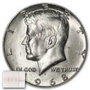 1968-D Kennedy Half Dollar 20-Coin Roll BU