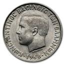 1968 Greece 10 Drachmai BU