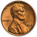 1968 Lincoln Cent BU (Red)