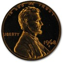 1968-S Lincoln Cent Gem Proof (Red)