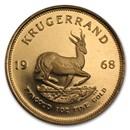 1968 South Africa 1 oz Proof Gold Krugerrand