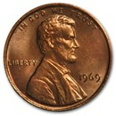 1969 Lincoln Cent BU (Red)