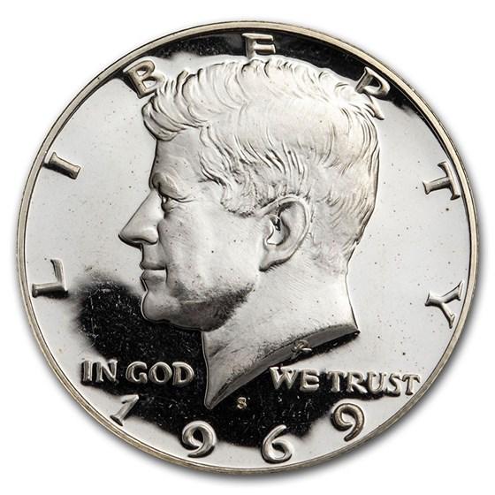1969-S Kennedy Half Dollar Gem Proof