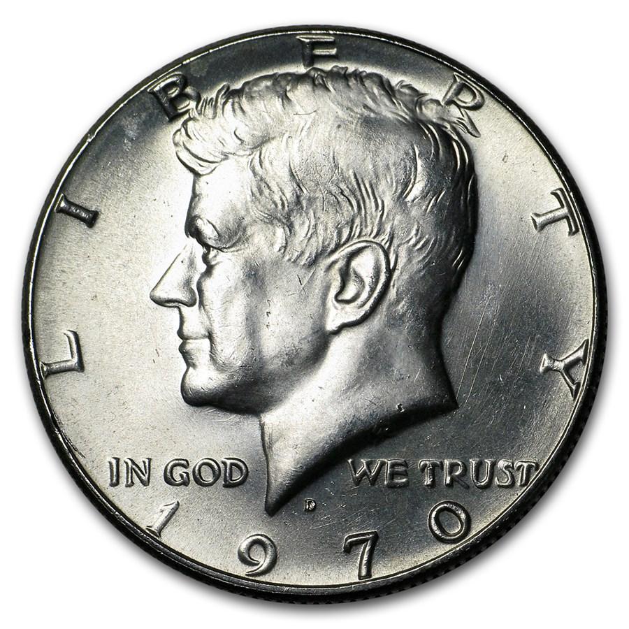 1970-D Kennedy Half Dollar BU