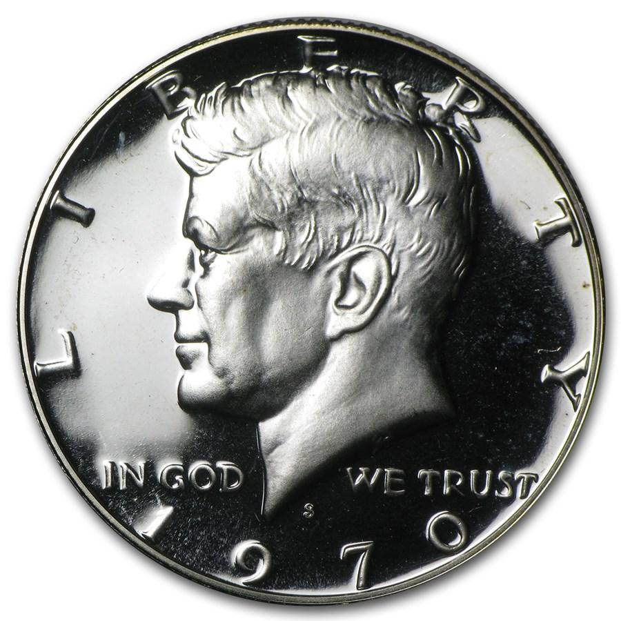 1970-S Kennedy Half Dollar Gem Proof
