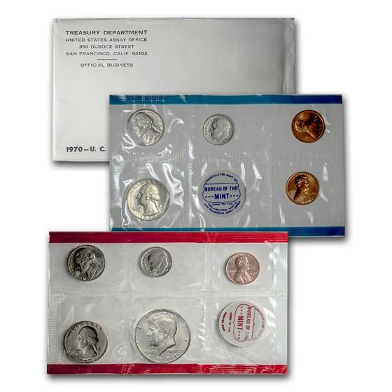 1970 U.S. Mint Set (Small Date)