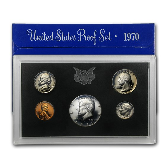 1970 U.S. Proof Set (Large Date)