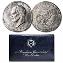 1971-1976 40% Silver Eisenhower Dollar BU (Blue Mint Envelope)