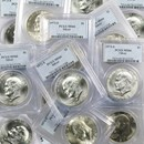 1971-1976 40% Silver Eisenhower Dollar MS-66 PCGS (Random Year)