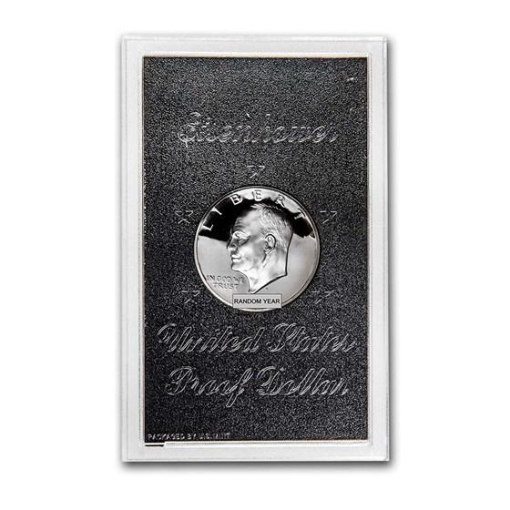 1971-1976 40% Silver Eisenhower Dollar Proof (Original Holder)