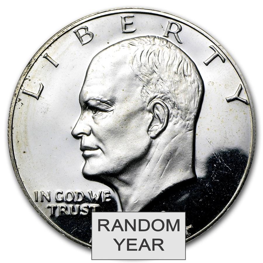 1971-1976 40% Silver Eisenhower Dollar Proof